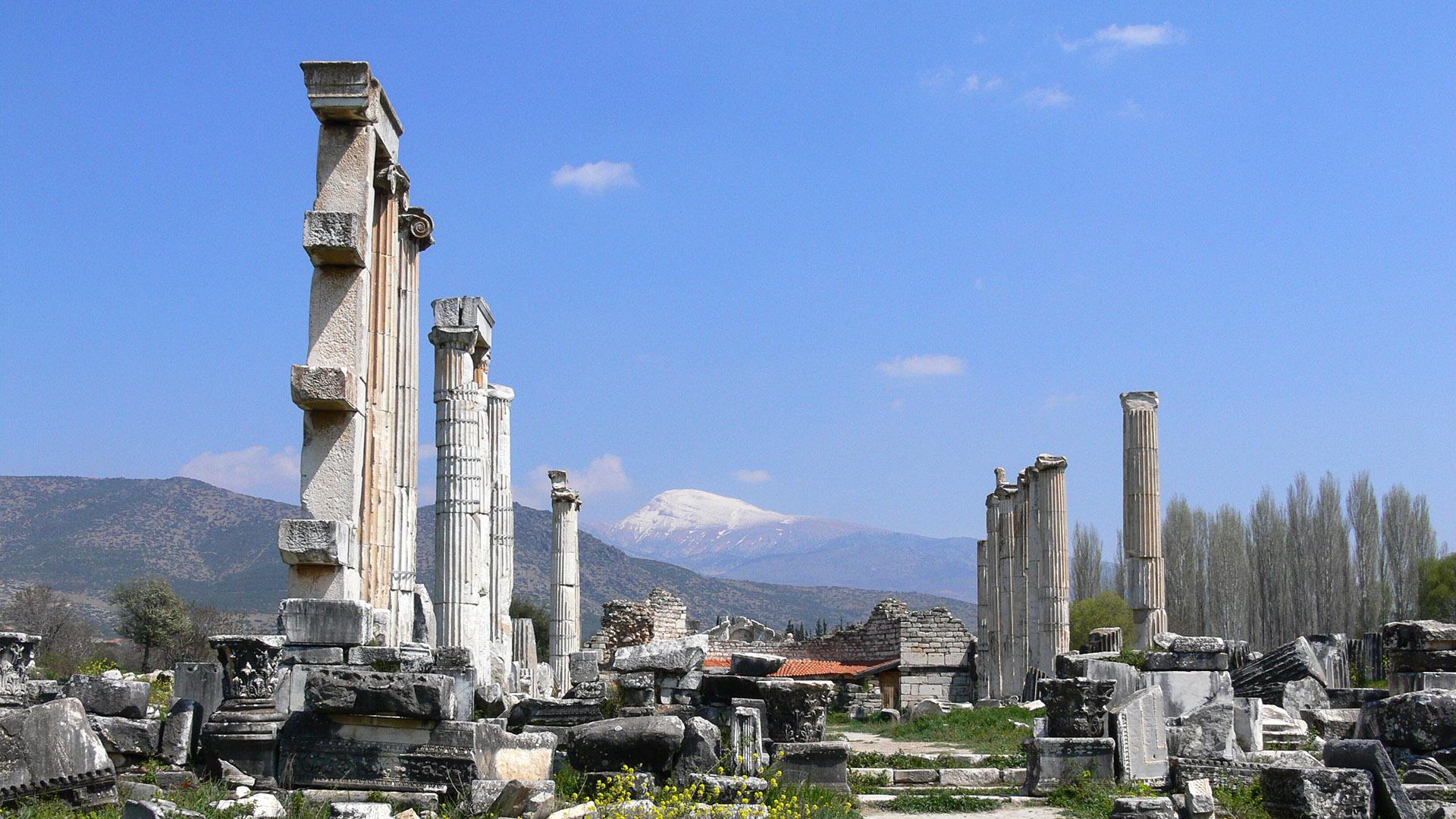 El templo de Afrodita