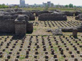 Los baños romanos en Ankara