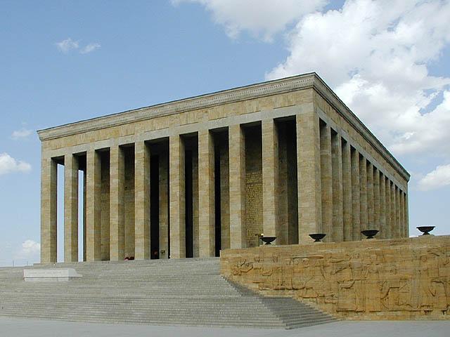El mausoleo de Atatürk
