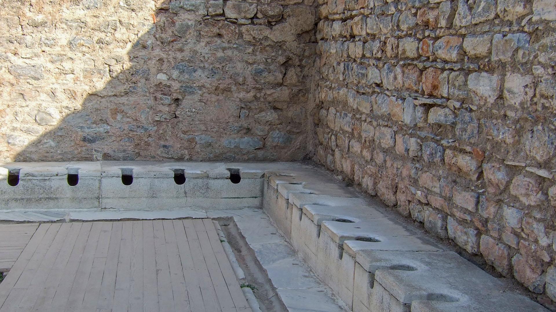 La letrina de Éfeso